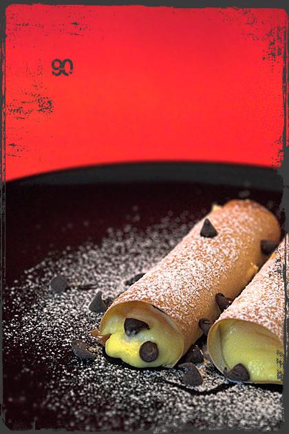 Cannelloni di pasta fillo alla ricotta