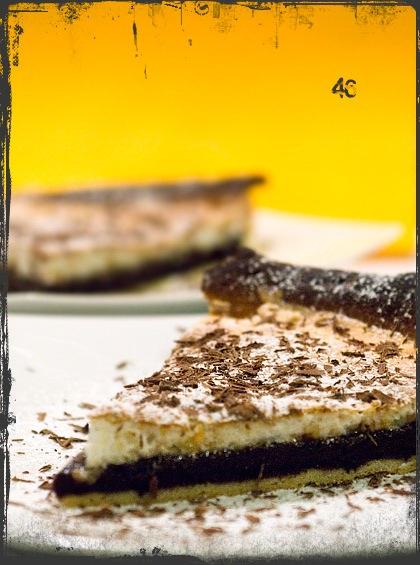 Crostata al cioccolatomeringata
