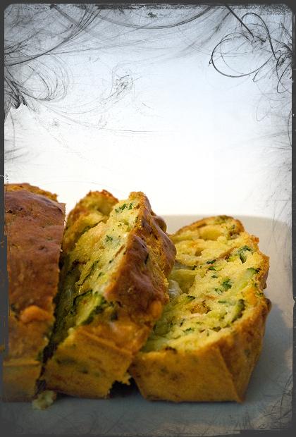 Plum-cake alle verdure e formaggi