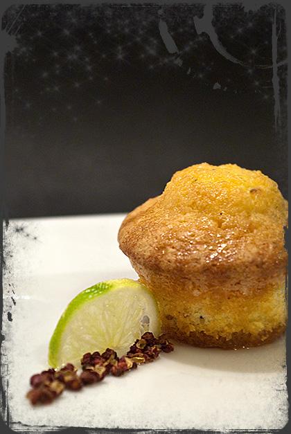 Muffin al cocco e pepe di Sichuan