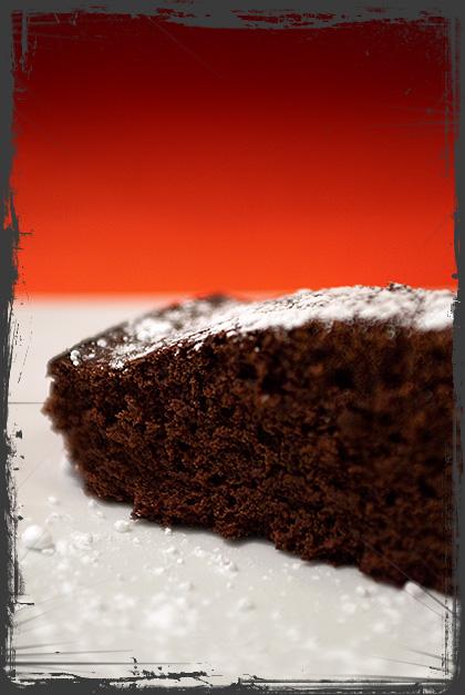 Torta cacao, arancia, cannella