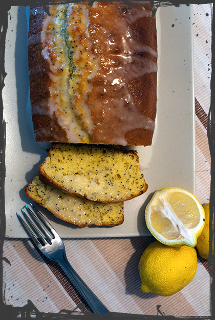 Plum-cake al limone con maionese